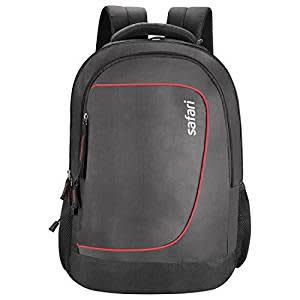 Safari Polyester 27 Ltrs Black Laptop Backpack (Wish)