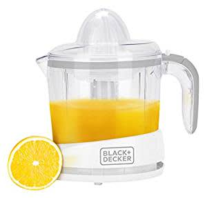 Black + Decker BXCJ0101IN 1-Litre Juicer (White)