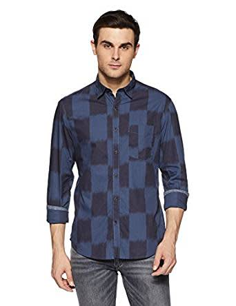 John Players Men's Casual Shirt