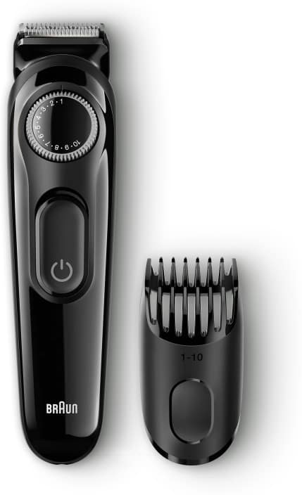 Braun BT3020 Cordless Trimmer for Men  (Black)