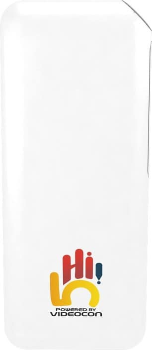 Videocon 10000 mAh Power Bank (VH-0B100L01)  (White, Lithium-ion)