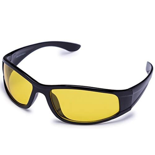 [79% off]Agera UV Protected black with yellow lens at Rs. 269 @ Amazon