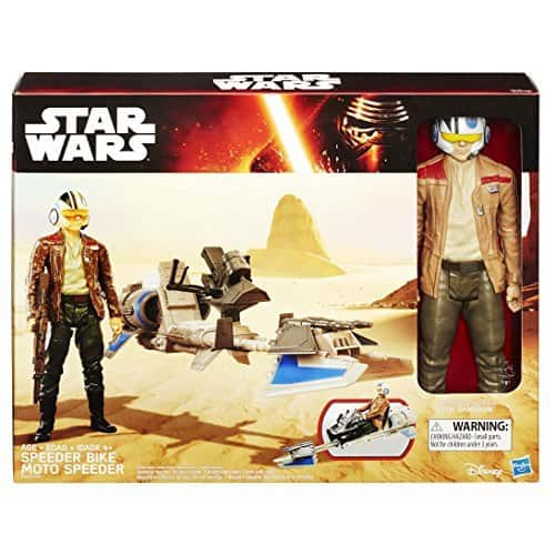 [71% off]Starwars Starwars E7 Hero Series Figure and Vehicle - Finn and Speeder Bike Rs. 581