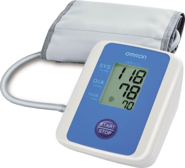 Omron HEM-7112 BP Monitor  (White)