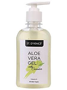 ST. D'VENCÉ Aloe Vera & Cucumber Gel ( No Parabens | No Mineral Oil) (275 ml)