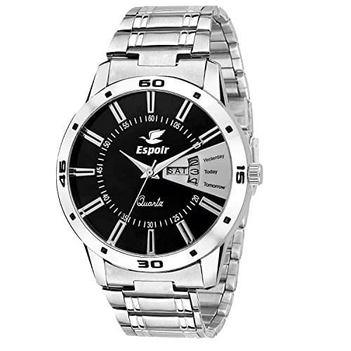 Espoir Analogue Black Dial Men'S Watch at Rs. 199 @ Amazon