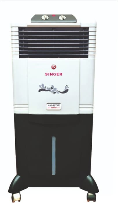Singer Aviator Senior Personal Air Cooler  (White, 50 Litres)
