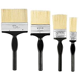 Spartan Paint Brush Multicolour set of 4 (100 MM+ 75 MM +50MM+25MM)