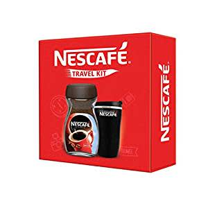 Nescafe Classic Black Travel Kit, 200g with Jar (Limited Edition)