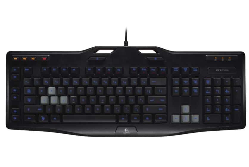 Logitech G105 Gaming Keyboard (Black)