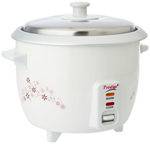 Prestige Delight PRWO 1.0-(400 watt)1-Litre Electric Rice Cooker @ Rs.1029/- (44% off)