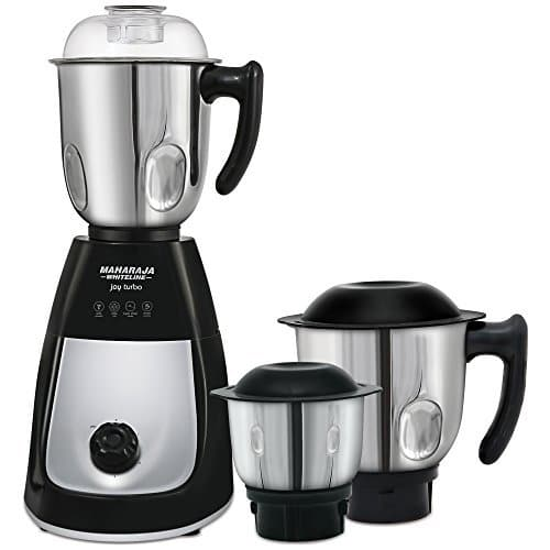 Maharaja Whiteline Joy Turbo 750 Watt Mixer Grinder with 3 Jars Rs. 2499 @ Amazon