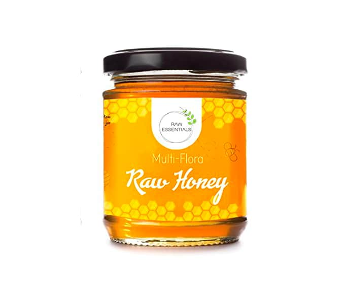Raw Essentials Multi flora Raw Honey 350 g (Pure, Unfiltered)