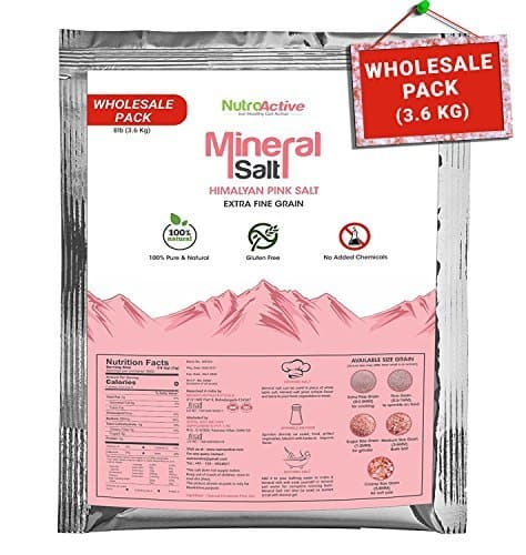 NutroActive Mineral Salt 0.5-1 mm Wholesale Pack 3.4 Kg Rs.899 - Amazon