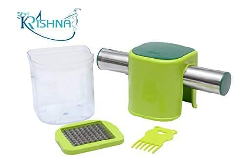 Ritu Shri Krishna Plastic French Fries Cutter, Green @ 92