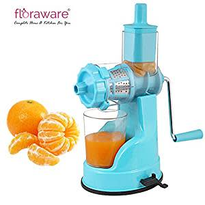 join whiahlist-Floraware Plastic Fruit and Vegetable Juicer, Blue (Ipl_Blue)