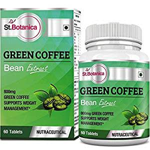 St.Botanica Green Coffee Bean Extract with Chlorogenic Acid 800 mg - 60 Tablets