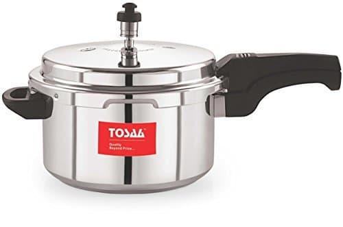 Tosaa Ultra Delux Pressure Cooker 5 Litres Rs. 704 - Amazon