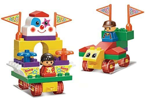 Sluban M38-B6008 Lego Amusement Park Educational Toy Rs. 399 - Amazon
