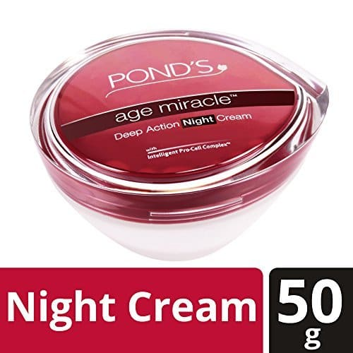 Lowest] POND'S Age Miracle Deep Action Night Cream, 50 g@ Rs345