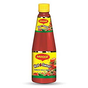 Nestle Maggi Hot & Sweet Tomato Chilli Sauce Bottle, 1kg