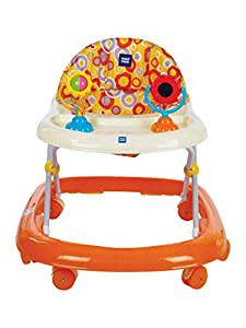 Mee Mee Simple Steps Baby Walker (Orange)