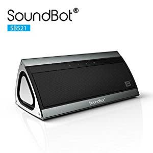 [back ] SoundBot SB521 Bluetooth Speakers (Stainless Steel Brushed Metallic)