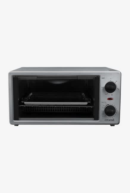 Croma CRAO0038 12L Oven Toaster Grill (Grey)
