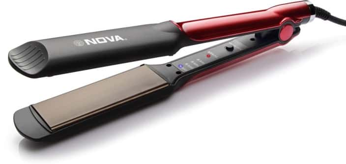 Nova Temperature Control Professional NHS 870 Hair Straightener @ Rs.475/- (80% off)
