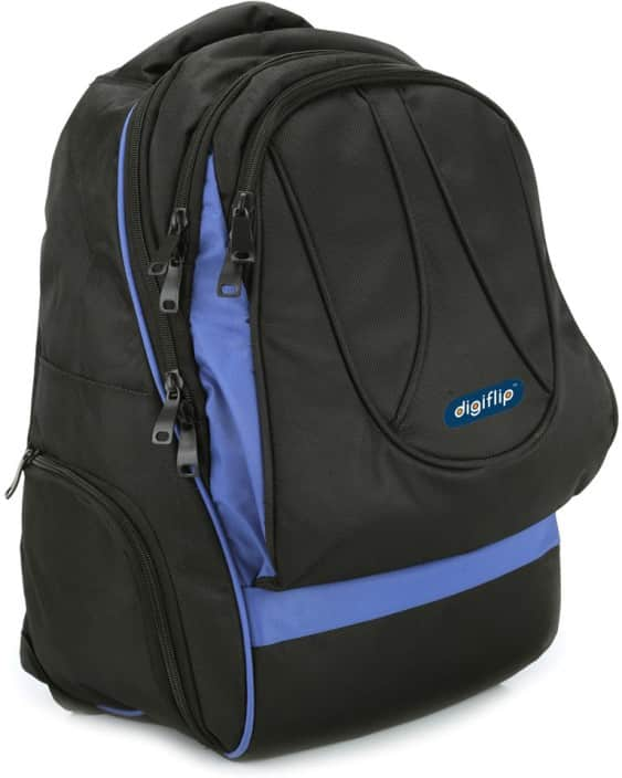 DigiFlip Nomad Overnighter LB006 Laptop Backpack Rs. 399 @ Flipkart