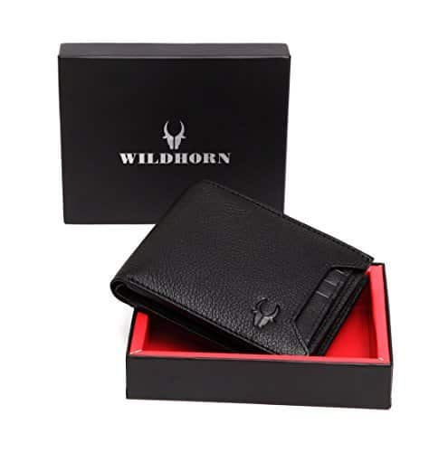 !!!!71% off!!!!Wildhorn Genuine Leather Wallet 015 Rs.440 - Amazon