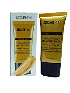 ADS PRO Born to Glow Illuminator Makeup Base - Gold 03