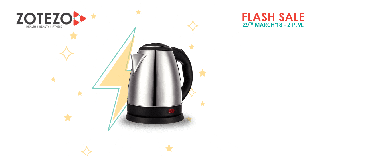 Flash Sale ] @1 rs+s Electric Kettle