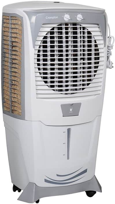 Crompton ozone 555 Desert Air Cooler  (White, Grey, 55 Litres)