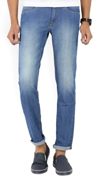 Flying Machine Skinny Men's Blue Jeans