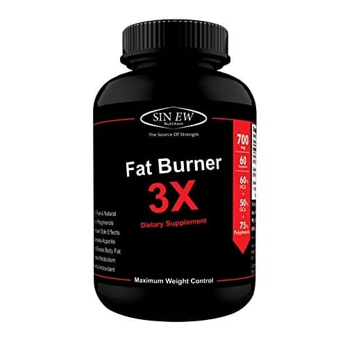 Sinew Nutrition Natural Fat Burner 3X 700 mg 60 Capsules Rs.349 @Amazon