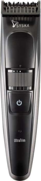 Syska HT800 Cordless Trimmer for Men  (Black)#OnlyOnFlipkart
