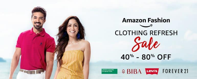 amazon clothing refresh sale