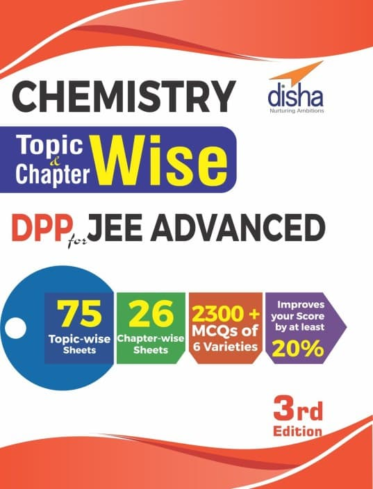Chemistry Topic-wise & Chapter-wise DPP (Daily Practice Problem) Sheets for JEE Advanced 3rd Edition  (English, Paperback, Disha Experts)