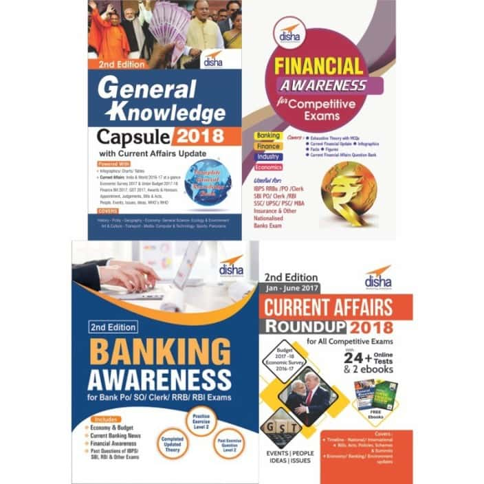 General/ Banking/ Financial Awareness with Current Affairs for Bank Exams  (English, Paperback, Disha Experts)