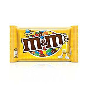 M&M's Peanut Coated with Milk Chocolate, 45g
