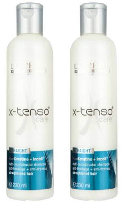 L'Oreal Paris Professionnel X-tenso Care Straight Shampoo  (460 ml)