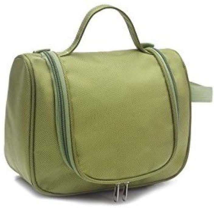 Everyday Desire Cosmetic Make Up Toiletries Travel Hanging Bag - Green Travel Toiletry Kit  (Green)