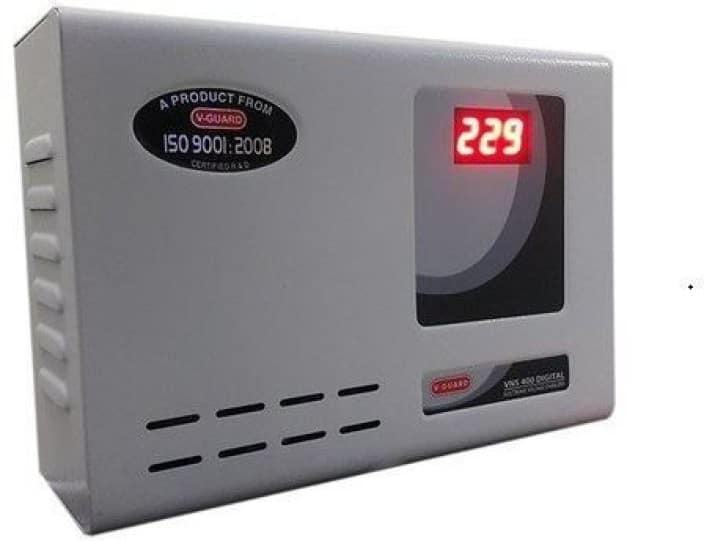 V-Guard VNS 400 Digital Display For AC upto 1.5Ton Voltage Stabilizer  (Grey)