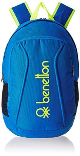 UCB Polyester 50 cms Blue Travel Duffle