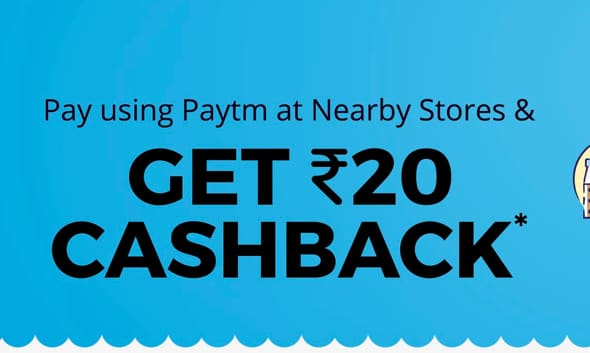 Paytm Scan & Pay Offer : Get Rs 20 Cashback On Retail Stores, Auto, Taxi, Petrol Pumps Via Scanning Paytm QR Code