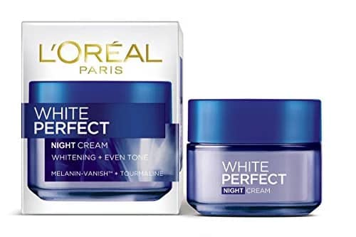 L'Oreal White Perfect Night Cream 50ml @ 340, 56% OFF