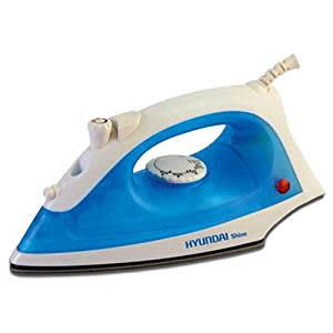 Hyundai Shine HNS12B3P-DBH Steam Iron (White and Blue)