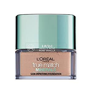 L'Oreal Paris True Match Mineral Foundation, 2R/2C Vanilla Rose, 10ml