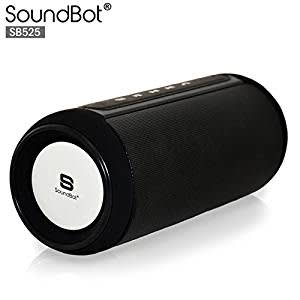 SoundBot SB525 4.0 Wireless Bluetooth Speaker (Black)